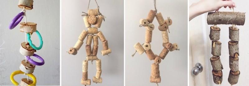 как самим сделать игрушки для попугаев, какие бывают игрушки фуражилки